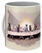 The Cat Supper Coffee Mug