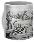 The Chess Game Coffee Mug