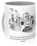 The Course Of Humanity Coffee Mug