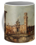 The Entrance To The Arsenal In Venice  Coffee Mug
