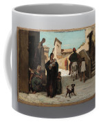 The Fable Of The Miller  His Son  And The Donkey  Coffee Mug