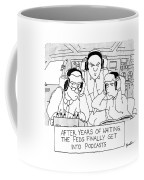 The Feds Get Into Podcasts Coffee Mug