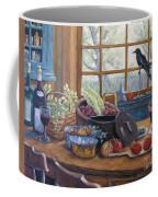 The Good Harvest Country Kitchen By Richard Pranke Coffee Mug