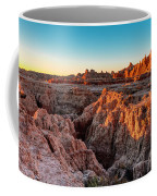 The High And Low Of The Badlands Coffee Mug