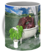 The Hippo Tub Coffee Mug