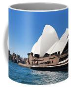 The Iconic Sydney Opera House.  Coffee Mug