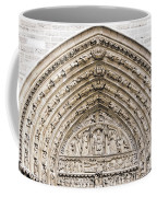 The Judgement Portal Of Notre Dame De Paris Coffee Mug