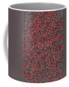 The Labyrinth Coffee Mug by Lucia Sirna