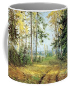 The Road Into The Forest Coffee Mug