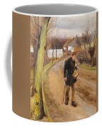The Road Through The Village Of Ring Coffee Mug