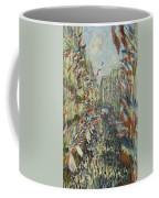 The Rue Montorgueil In Paris  Celebration  Coffee Mug