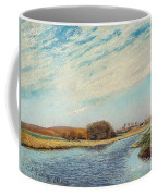 The Susaa River At Naestved, Denmark Coffee Mug
