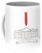 The Tie Of Damocles Coffee Mug