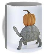 The Tortoise And The Pumpkin Coffee Mug