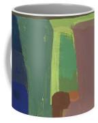 Valley At Night  - Abstract  Coffee Mug