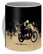 The Vintage Motorcycle Racer Coffee Mug