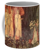 The Vision Of The Holy Grail To Sir Galahad Sir Bors And Sir Perceval Coffee Mug