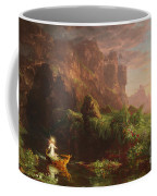 The Voyage Of Life Childhood, 1842 Coffee Mug