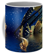 The Wickers-... Out For A  Midnight Swim... Coffee Mug