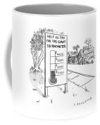 This Giant Thermometer Coffee Mug