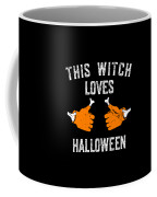 This Witch Loves Halloween Coffee Mug