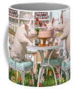 Three Little Pigs And The Birthday Cake Coffee Mug