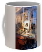 Through An Artists Window Coffee Mug