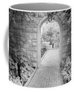 Through The Garden Gate Coffee Mug
