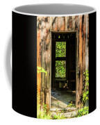 Through The Old Blacksmith Shop Coffee Mug
