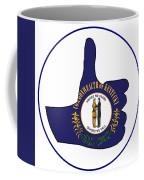 Thumbs Up Kentucky Coffee Mug