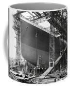 Titanic In Belfast Dry Dock 1911 Coffee Mug