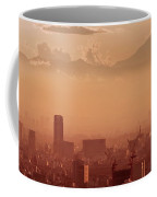 Tokyo And Mount Fuji Coffee Mug