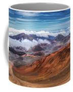 Top Of Haleakala Crater Coffee Mug by Andy Konieczny