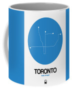 Toronto Blue Subway Map Coffee Mug