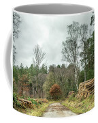 Track Through The Wood Coffee Mug by Nick Bywater