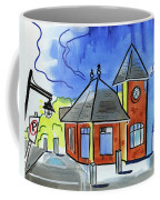 Train Stop Coffee Mug