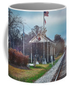 Train Tracks To Old Town Coffee Mug