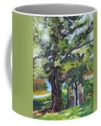 Tree At Cartecay Coffee Mug