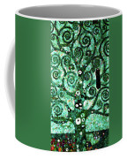 Tree Of Life Abstract Expressionism Coffee Mug
