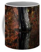 Tree Reflects In The Pond Coffee Mug