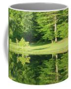 Trees Reflections Coffee Mug by Rockin Docks