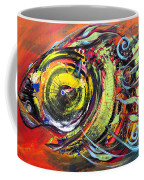Triple Crown Blue Eyed Horse Faced Fish Coffee Mug