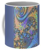 Trippy Vibrant Fractal  Coffee Mug