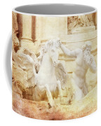 Triton And Horse Coffee Mug