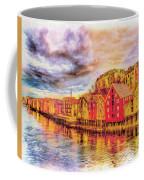 Trondheim - Waterfront Evening Coffee Mug