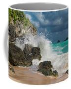 Tropical Beach Splash Coffee Mug