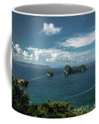 Tropical Island In The Ocean Coffee Mug