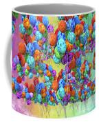Tropical Print Balloons Coffee Mug