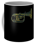 Trumpet Music Instrument Gift For Musician Color Designed Coffee Mug