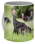 Turkey Flock Coffee Mug